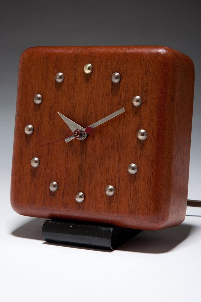 American Art Deco Gilbert Rohde Clock Herman Miller 4723-A