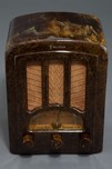 Emerson Catalin Radio AU-190 Beautiful Brown Marbleized - Rare