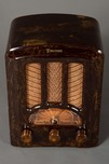 Emerson AU-190 Catalin Radio Beautiful Marbleized Brown  - Rare