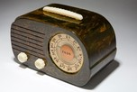 "Rare Blue Catalin FADA 700 ""Cloud"" Art Deco Radio"