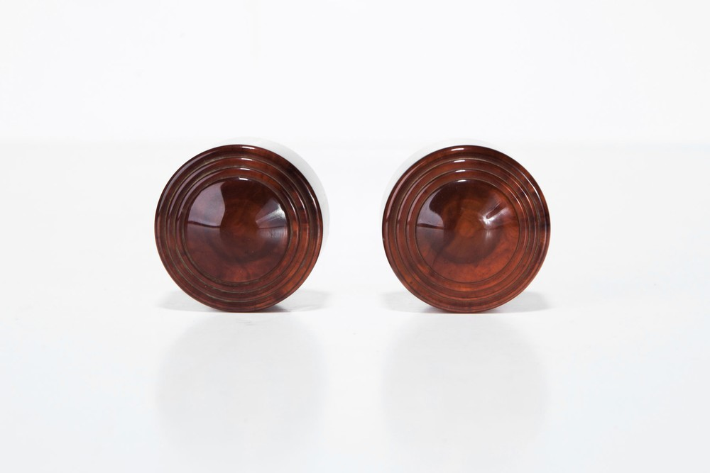 Garod 1B55L 'Drop-Handle' Radio Catalin Knobs in Tortoise