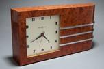 Gilbert Rohde Burlwood Clock Great American Art Deco Design
