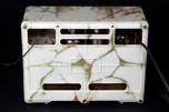 "Kadette Model H ""Gothic"" 1931 Art Deco Radio Marbleized Beetle Plastic"