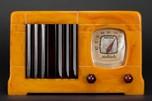 Catalin Motorola 52 Radio - Marbleized Sand + Tortoise 'Vertical Grill'