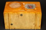 "Motorola 50XC Catalin ""Circle Grill"" Radio in Butterscotch"