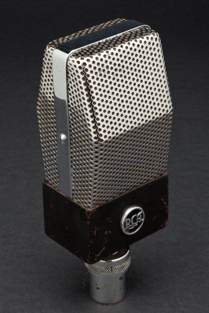 Early RCA 74B Ribbon Art Deco Microphone