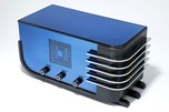 "Sparton 557 ""Sled"" Radio in Cobalt Blue Mirror Art Deco Teague Design"