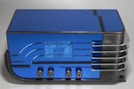 Sparton 558 'Sled' Blue Mirror Radio Walter Dorwin Teague Design - Deco